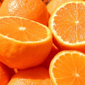 果物のオレンジの画像