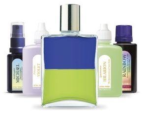 オーラソーマ製品の5本柱の写真(ボトル、ポマンダー、クイントエッセンス、カラーエッセンス、アークエンジェロイエッセンス)